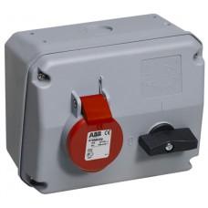 2CMA167686R1000 Роз.пов.вимик+блок 32A 3P+N+E IP44 6г WA/Industrial