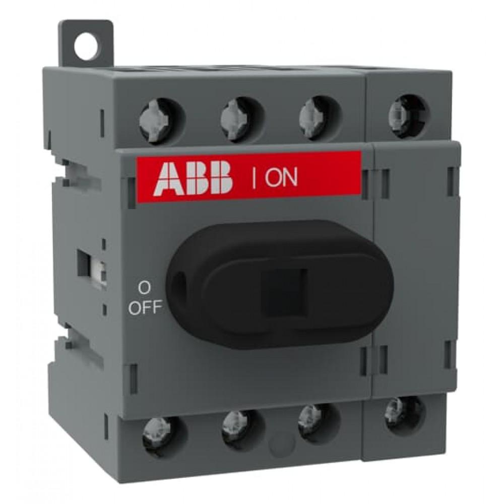OT16F4N2 Вимикач-роз'єднувач серії OT до 800А OT,CO,ATS ≤800A+acc.