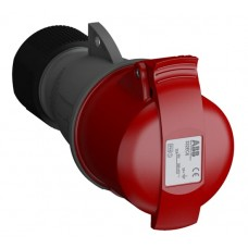 2CMA102040R1000 332EC6 Кабельна розетка IP44 32A 3P+E WA/Industrial