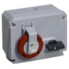 2CMA167853R1000 332MHS3W Розетка с выкл. и блокировкой,г WA/Industrial