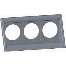 2CMA191084R1000 Кришка 1 ряд 3 отвори для роз'ємів WA/Industrial