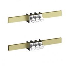 2CMA191080R1000 Шини N+PE 1пара=8 дворядних затискачів WA/Industrial