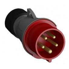 2CMA101967R1000 416EP6 Вилка кабельн.,16А,3P+N+E,IP44,6ч WA/Industrial