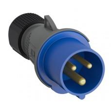 2CMA101975R1000 232EP6 Вилка кабельна 32A IP44 2P+E 6h WA/Industrial
