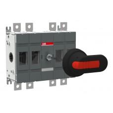 OTDC100E22P Вимикач-роз'єднувач серії OT до 800А OT,CO,ATS ≤800A+acc.