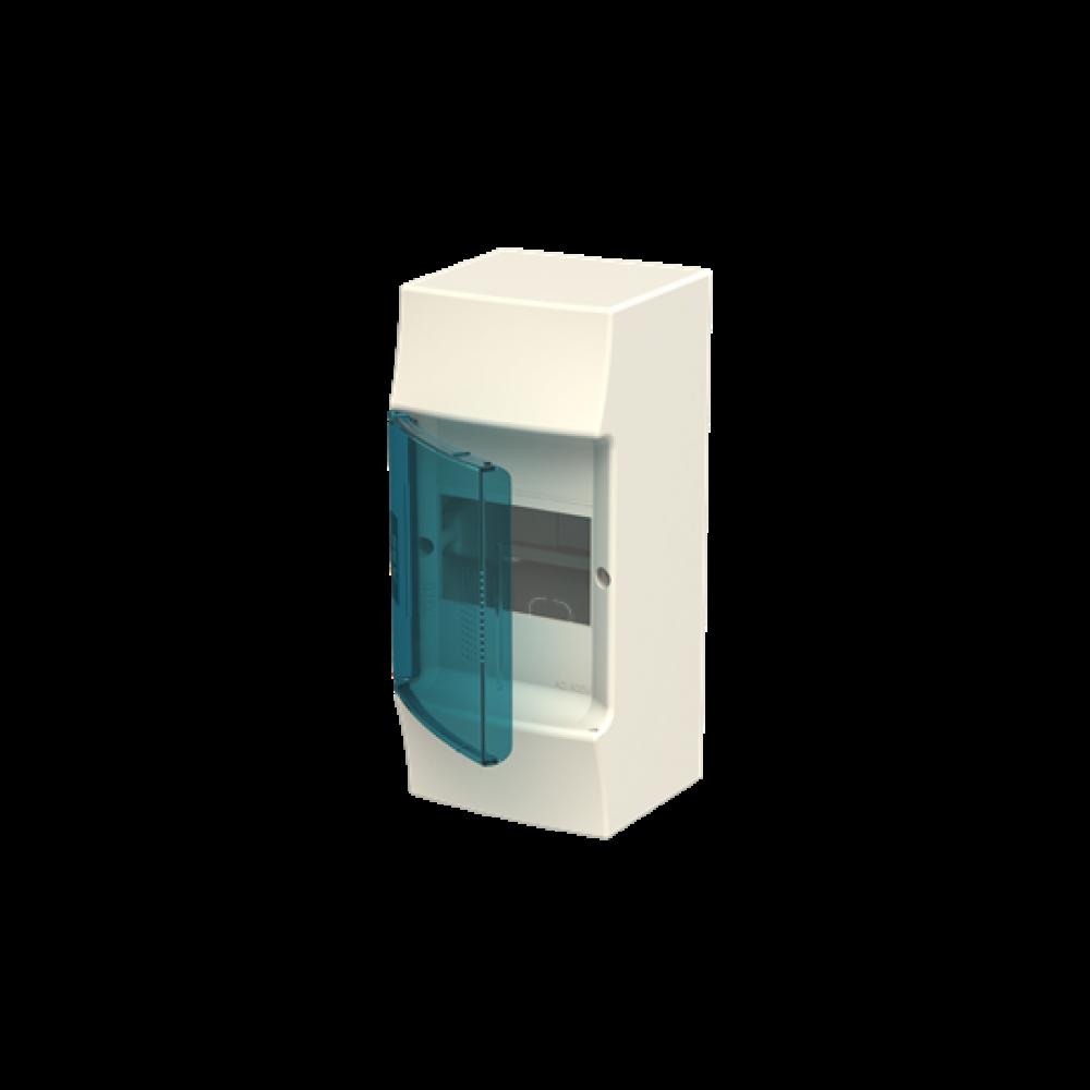 0 MISTRAL41W прозорі дверцята 4M Consumer units