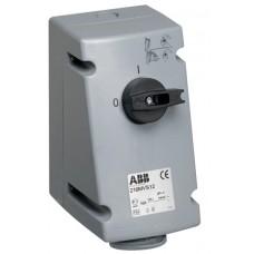 2CMA167646R1000 Роз.пов.вимик+блок. 16A 2P+E IP44 6г WA/Industrial