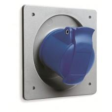 2CMA193218R1000 Розетка панель кут 16A 2P+E IP44 6г WA/Industrial