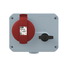 2CMA167640R1000 Роз.16A 3P+N+E IP44 346-415V 6г бокс руб WA/Industrial