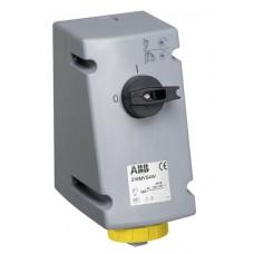 2CMA163256R1000 Роз.16A 2PE IP67 100-130V 4г бокс руб ВУ WA/Industrial