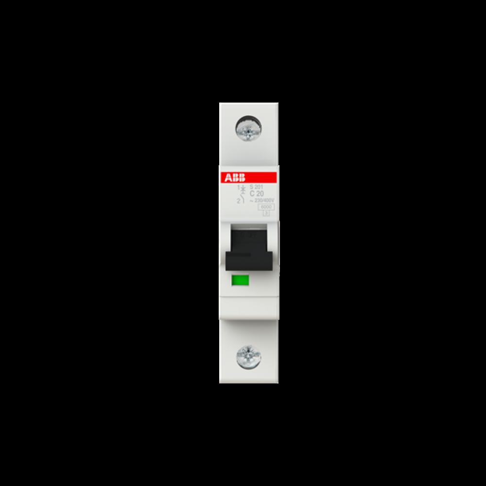 S201-C20 S201-C20 Автоматичний вимикач Modular Equip Std