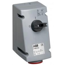 2CMA167663R1000 Роз.пов.вимик+блок. 16A 3P+N+E IP44 6г WA/Industrial
