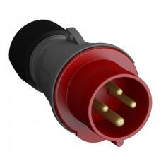 2CMA101956R1000 316EP6 Вилка кабельна 16A IP44 3P+E 6h WA/Industrial