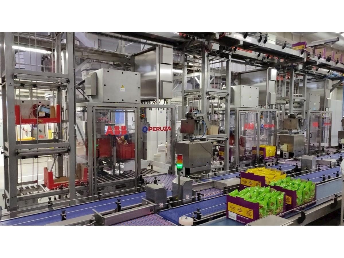 Автоматизація упаковки для харчової компанії Baltic