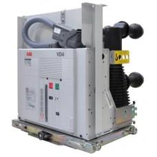 Вакуумний вимикач VD4 з пружинним приводом для розподільчих мереж 6 - 40,5 кВ, 630 - 4000 А, 16 - 63 кА